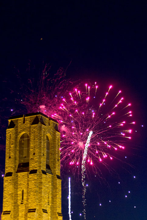 Fireworks in Fredrick Maryland 2014