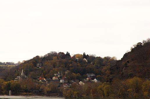 Lower town Harper's Ferry WV