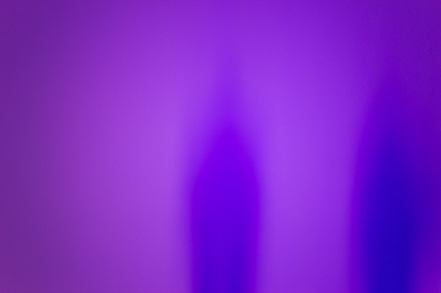 Purple wall ghost