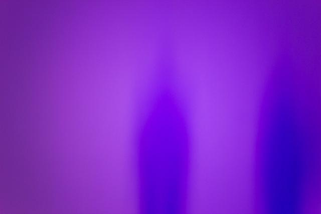 Purple wall ghost