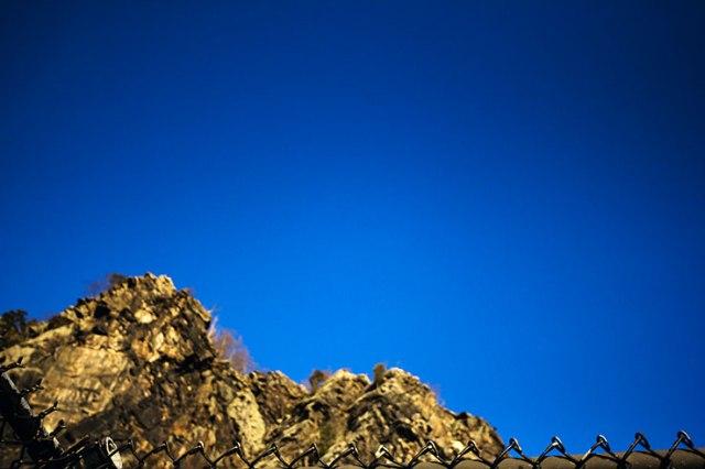 Mountain sky fence